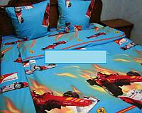Постельное белье для мальчиков''Феррари'', голубое