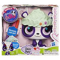 Игровой набор Литл пет шоп Разукрась зверюшку - панда Пенни Линг. Оригинал Hasbro