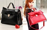 Женская стильная модная сумка с Бантом