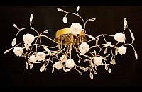 Люстра галогенная со светодиодной подсветкой , пультом 9023-13