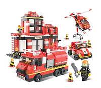 Конструктор Пожарные спасатели 0226 (693 детали)