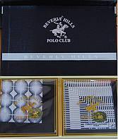 Носовые платки мужские 100% хлопок Polo Club Beverly Hills в подарочной упаковке