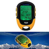 Многофункциональный SUNROAD FR500 альтиметр, барометр, термометр, компас, метео станци, подсветкая