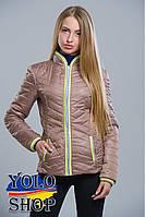 Куртка женская №7 (довяз) утепленная