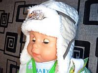 Шапка детская зимняя TM NUS, на меху