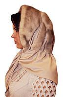 Женская норковая Косынка (колотый лед)