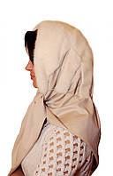 Женская норковая Косынка (жемчуг)