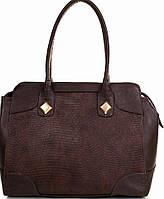 Классическая женская сумка из искусственной кожи  ETERNO (ЭТЕРНО) ETMS3523010-brown (коричневый)