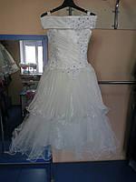 Нарядное бальное/ пышное платье для девочек 116-128р