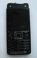Передняя (лицевая) панель Sony Ericsson C902 с дисплеем и кнопками Black