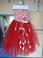 Нарядное бальное/пышное платье для девочек 116-128р