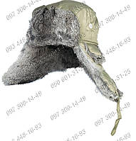 Шапка-ушанка на натуральном меху Norfin Ardent Подкладка натуральный кроличий мех Заботливый подарок для зимы