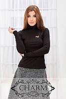 Костюм (гольф и юбка) № 283 цвета