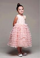 Платье с многослойными оборками 2-10лет(2 цвета)