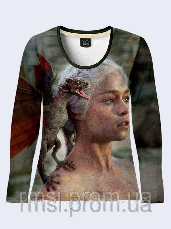 Лонгслив Daenerys with dragon