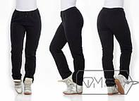 Теплые женские синие штаны большого размера, размеры 50, 52, 54, 56, 58
