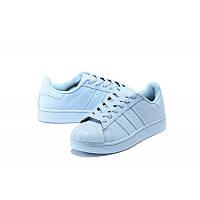 Кроссовки мужские Adidas Superstar Supercolor (адидас, оригинал)  белые