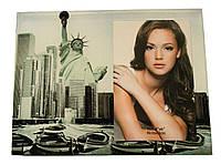"""Фоторамка  """"Нью-Йорк"""" стекло 10х15 см"""