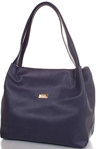 Симпатичная женская сумка из искусственной кожи  ETERNO (ЭТЕРНО) ETMS351796-blue (синий)