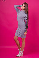 Платье трикотаж гипюр , фото 1