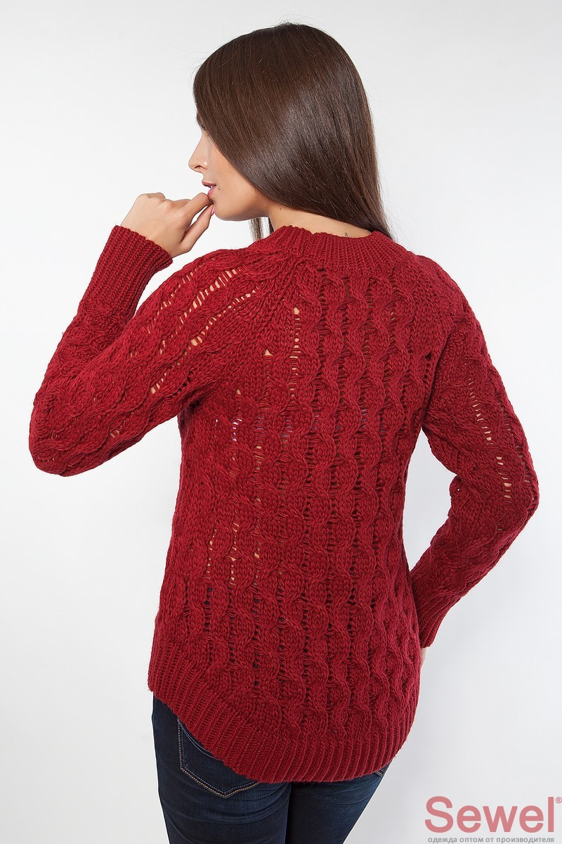 Красивый Вязаный Пуловер Доставка