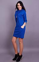 Трикотажное платье с карманами
