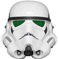 Шлем клона имперского штурмовика  с зелеными линзами.eFX