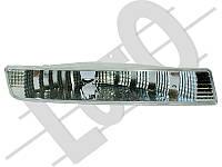 Фонарь указателя поворота на Opel Vivaro  01->06  R (правый, белый, в бампере) — Loro (Польша) - 037-42-852