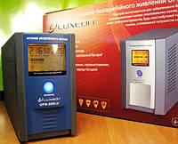 Бесперебойник-стабилизатор LUXEON UPS-500LU, ZX, ZY для котлов 2 года гарантии правильная синусоида 50Гц