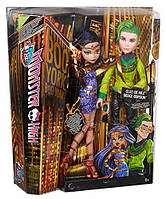 Набор кукол Клео де Нил и Дьюс Горгон Бу Йорк Monster High Boo York, Boo York Couple Cleo de Nile and Deuce