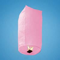 Небесный фонарик розовый SK-105