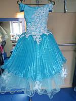 Бальное нарядное/пышное платье для девочек 116-128р