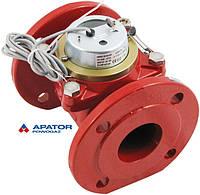 Водосчетчик Apator PoWoGaz MWN-130-65-NK (ГВ) с импульсным выходом турбинный Ду-65 сухоход промышленный
