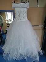 Бальное нарядное/пышное платье для девочек 128-140р