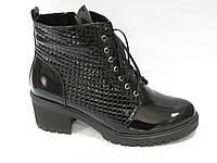 Ботинки женские демисезонные на шнуровке размер 37,38,40