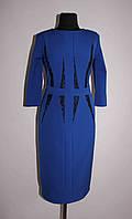 Платье женское 158 Синий, 50