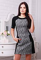 Платье Шанти черный