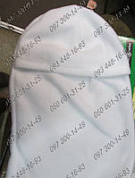 Белая шапка-маска (Балаклава) Флисовая не продуваемая шапка на флисе Мужская балаклава