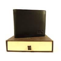 Купюрник (+удостоверение) мужской кожаный черный Mont Blanc 016-3