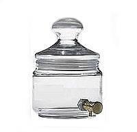 Reni Refan Амфора стекляная с краником для наливной парфюмерии 500 мл
