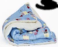 Одеяло мех-силикон/бязь полуторное (140*205)