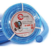 """Шланг для воды 3—х слойный 3/4"""", 20 м, армированный PVC Intertool GE—4073"""