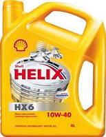 SHELL 10W40 Helix Super (HX6) (ж.) 4 л.(шелл)