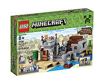 Конструктор LEGO Minecraft 21121 the Desert Outpost Building Kit - Лего Майнкрафт Пустынная застава 21121