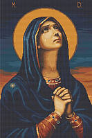 """Набор для вышивки крестом Luca-S B443 Икона Б.М.""""всех скорбящих радос"""