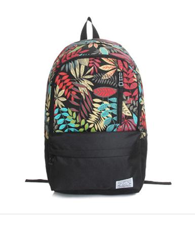 Рюкзак городской с яркими листьями 16 л. разноцветный URBANSTYLE, 021