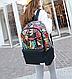Рюкзак городской с яркими листьями 16 л. разноцветный URBANSTYLE, 021 , фото 2