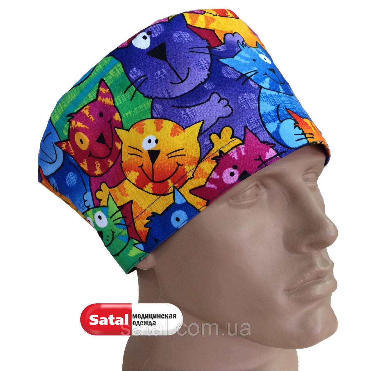 Хирургический шапочки с рисунком
