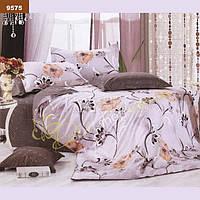 9575 Двуспальное постельное белье ранфорс Viluta