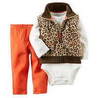 Carters костюм 3 в 1 Леопард 18 мес